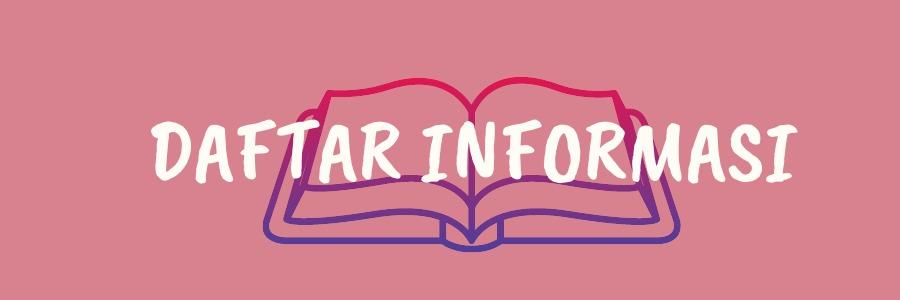 daftar informasi